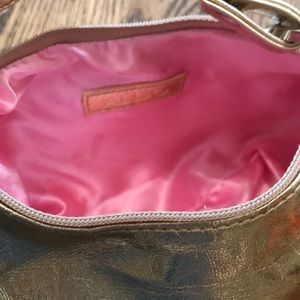 Aldo Bags - Aldo gold leather mini pocketbook